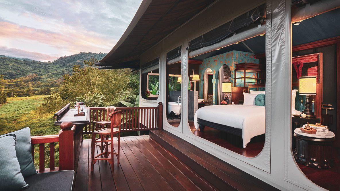 tent suite-rosewood luang prabang laos