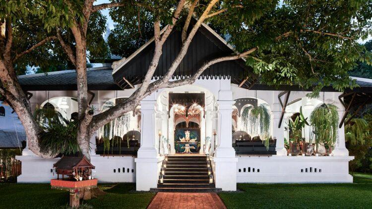 private villa-rosewood luang prabang laos