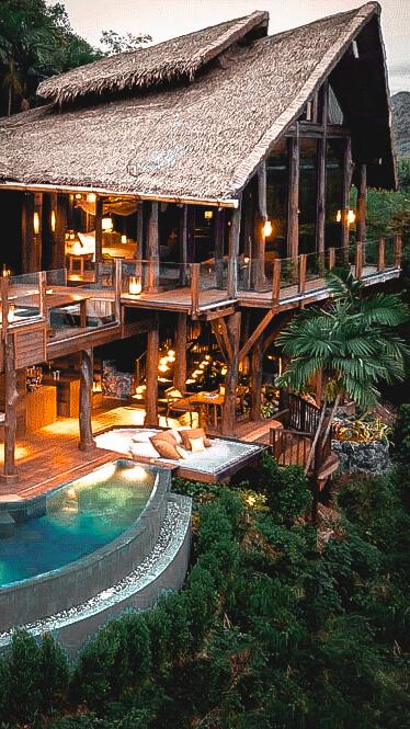 private villa with pool-six senses yoa noi thailand