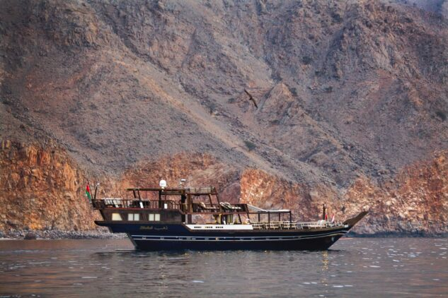boat trip-six senses zighy bay oman