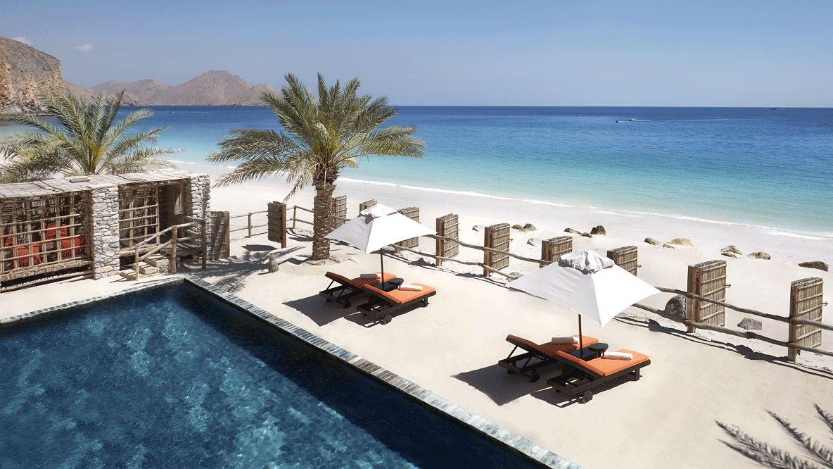 pool view ocean-six senses zighy bay oman