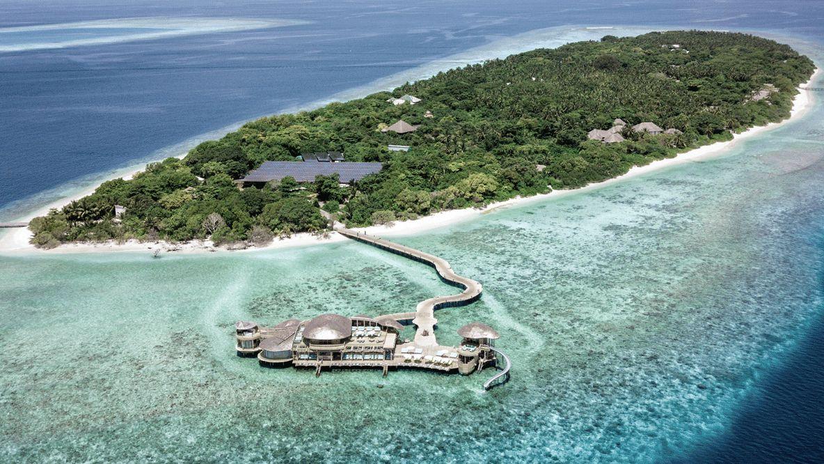 private island watervilla-soneva fushi maldives