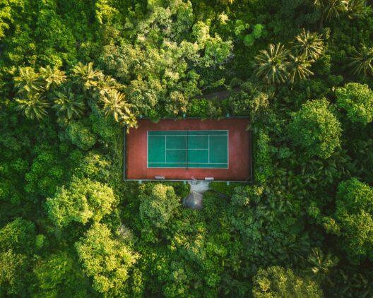 tennis court hotel-soneva fushi maldives