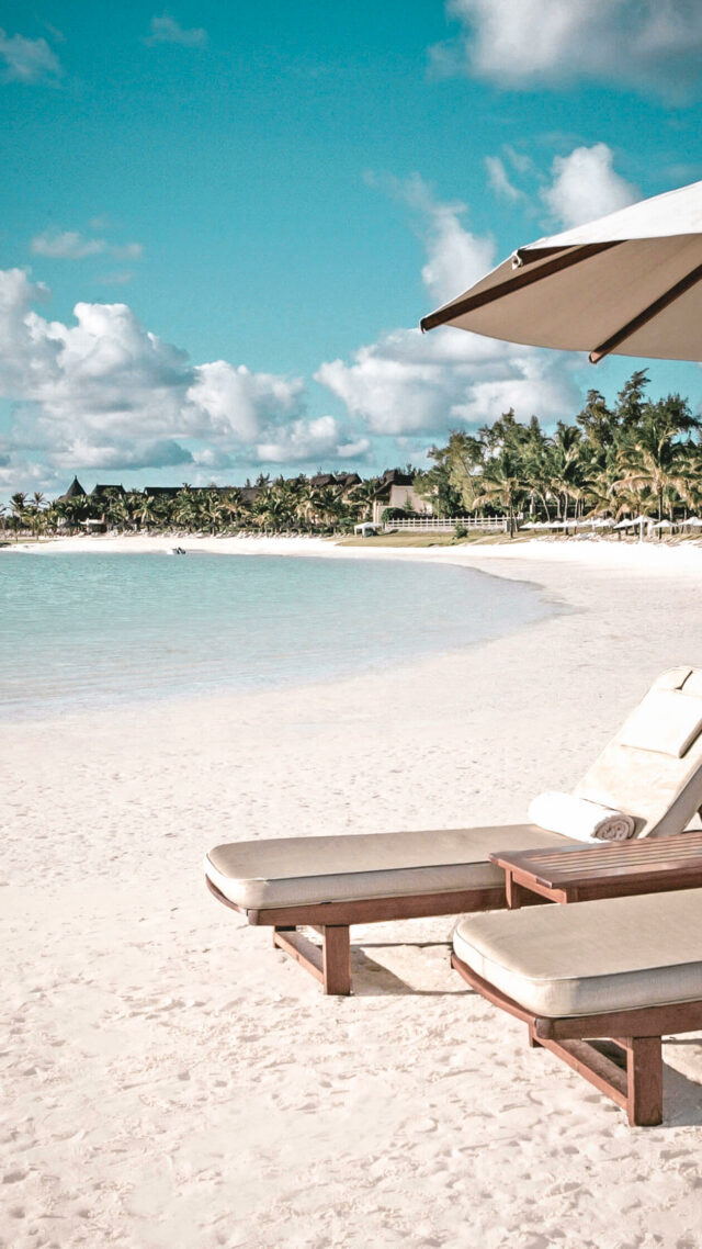 private beach-the residence mauritius