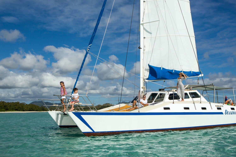 catamaran tour-the residence mauritius