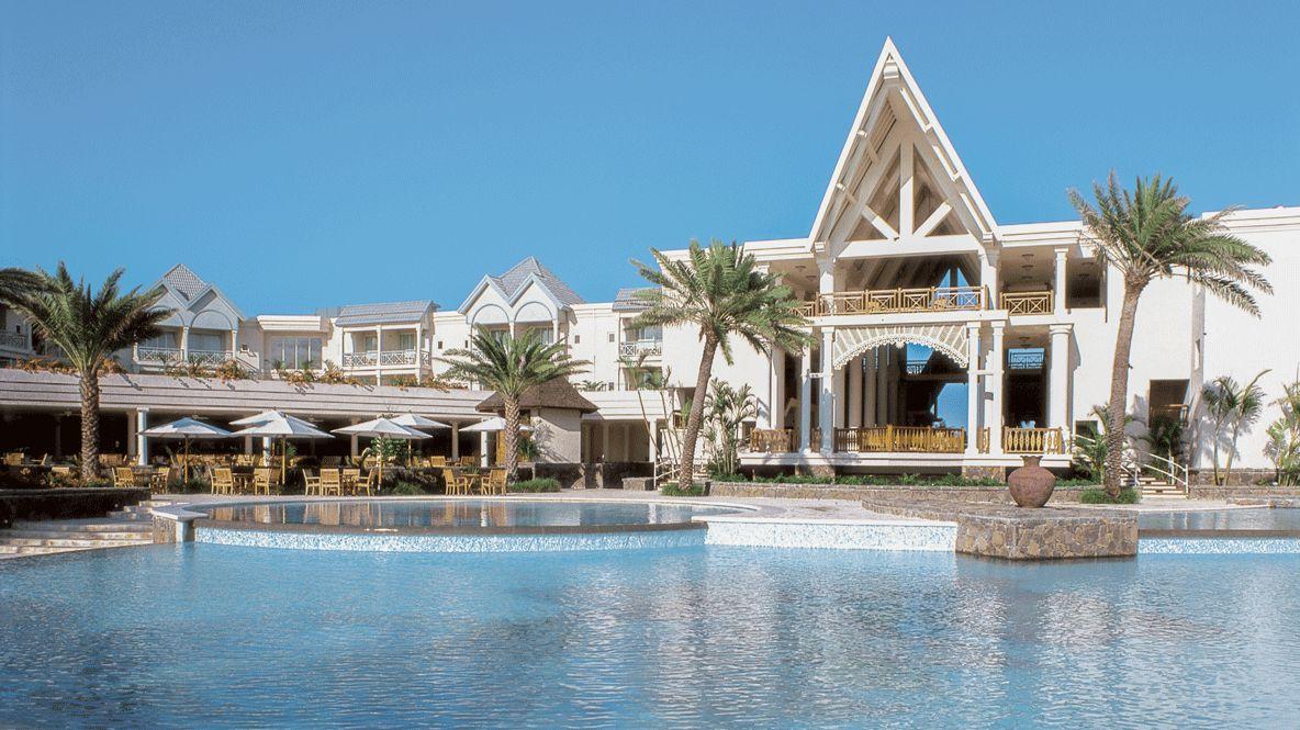 facade hotel area-the residence mauritius