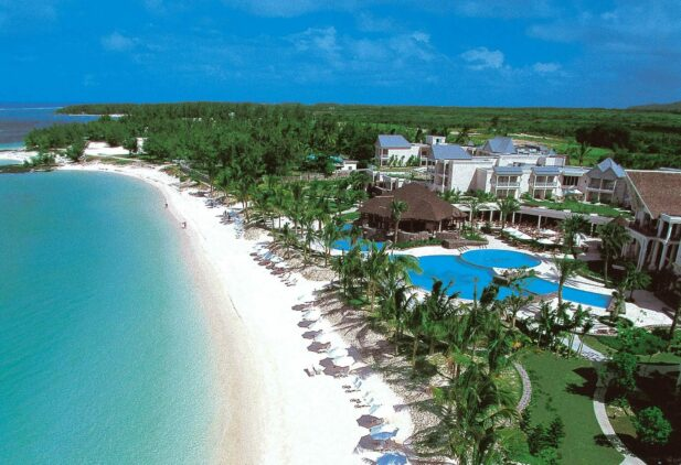 private beach hotel-the residence mauritius