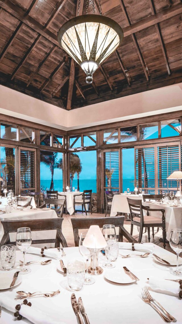 fine dining-the residence mauritius