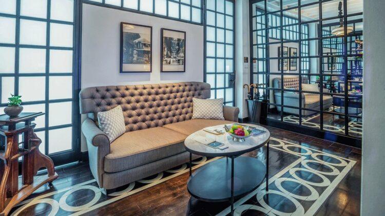 livingroom hotel-the siam bangkok