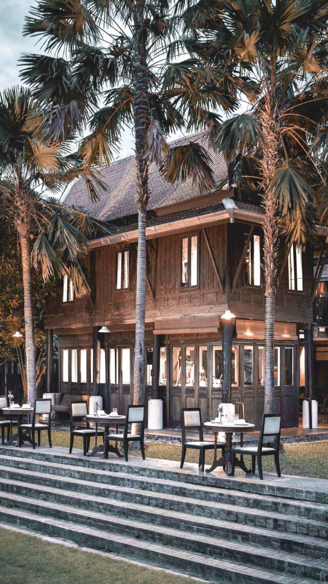 romantic restaurant-the siam bangkok