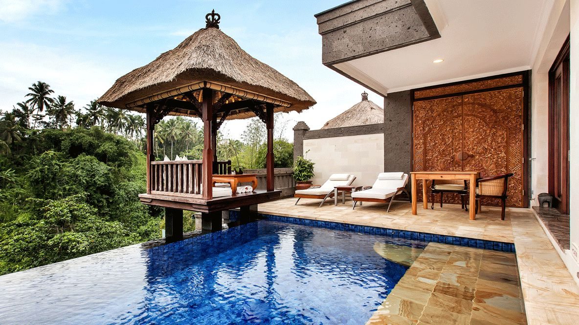 terrace private pool-viceroy bali