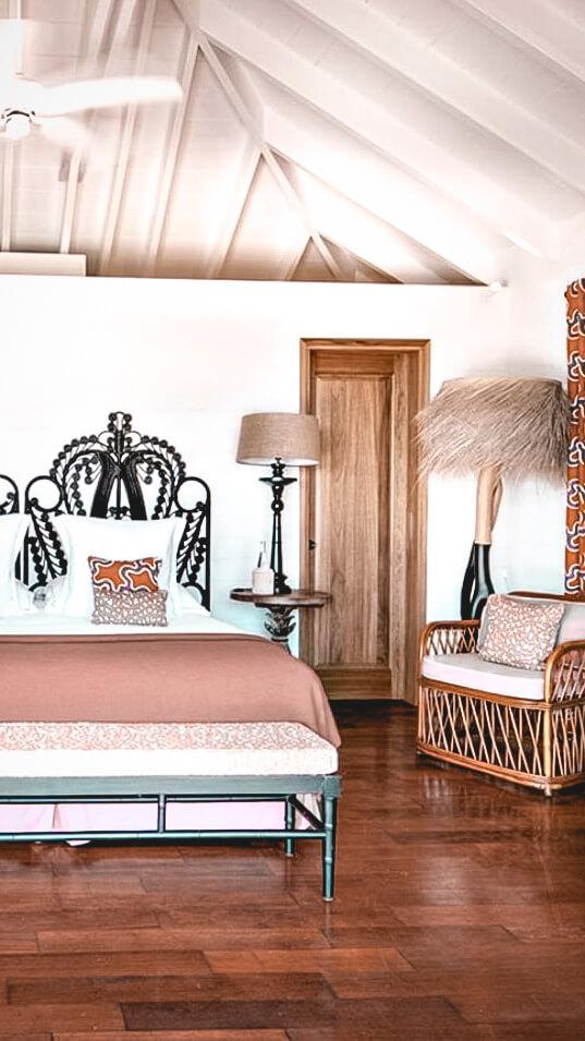 bedroom suite-villa marie saint-barth