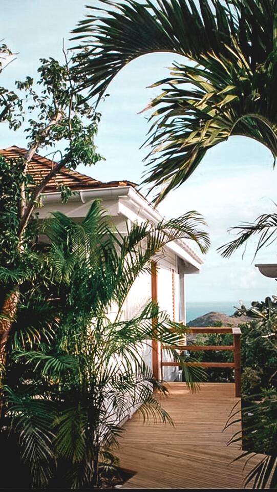 terrace view-villa marie saint-barth