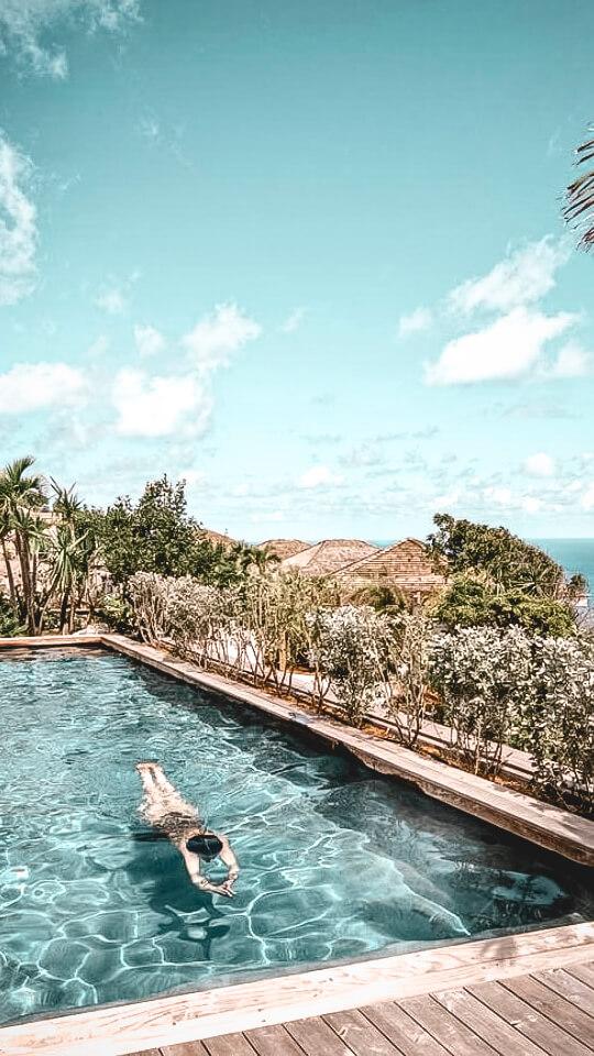 pool terrace-villa marie saint-barth