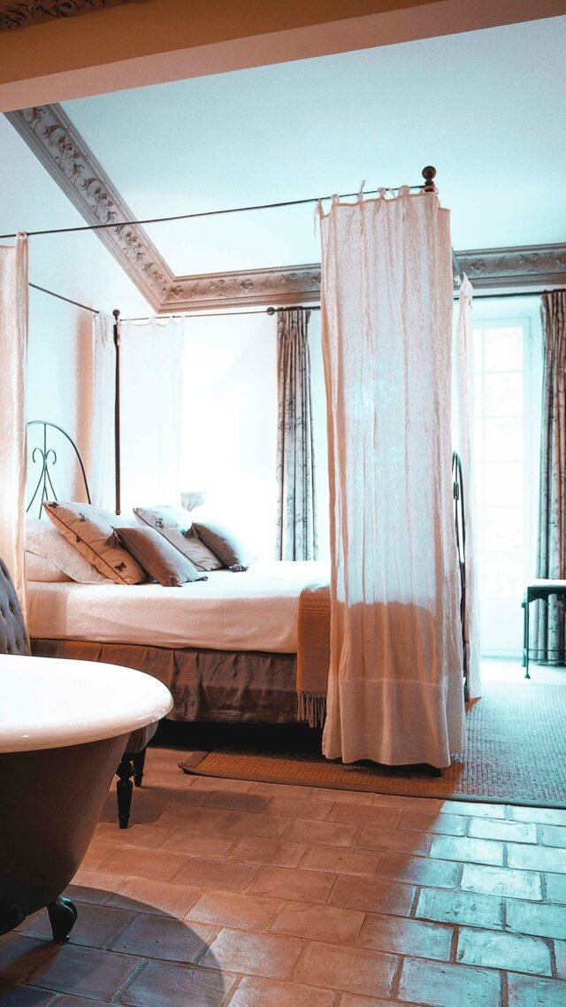 bedroom garden view-villa marie saint-tropez