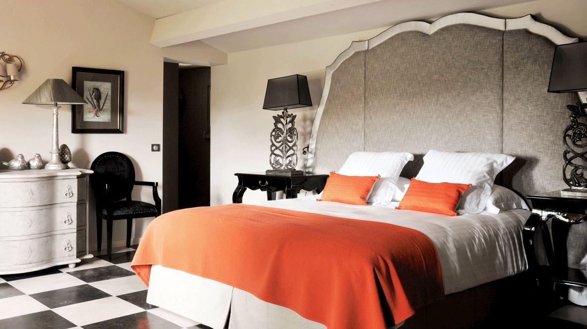 luxurious bedroom-villa marie saint-tropez