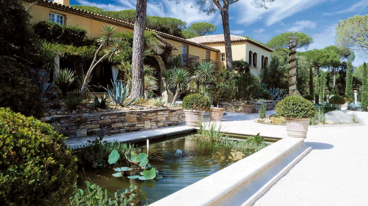 garden-villa marie saint-tropez
