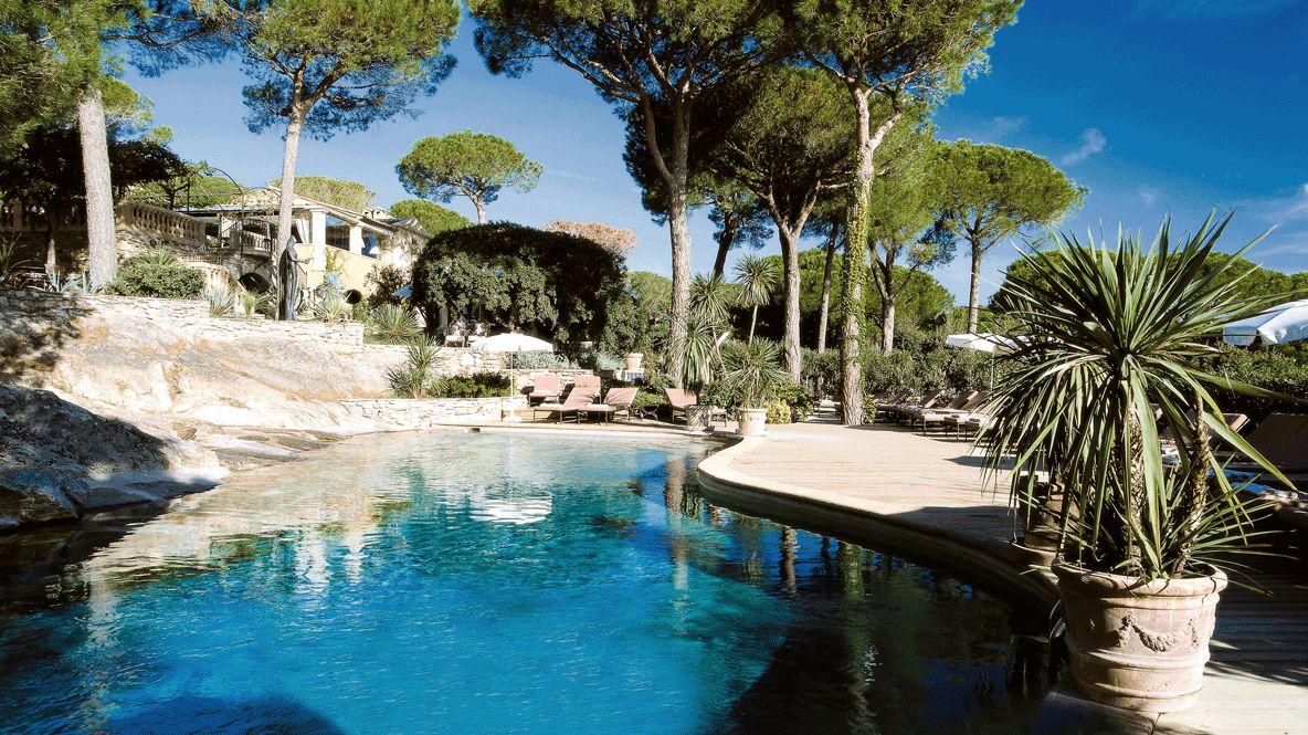 outdoor pool-villa marie saint-tropez
