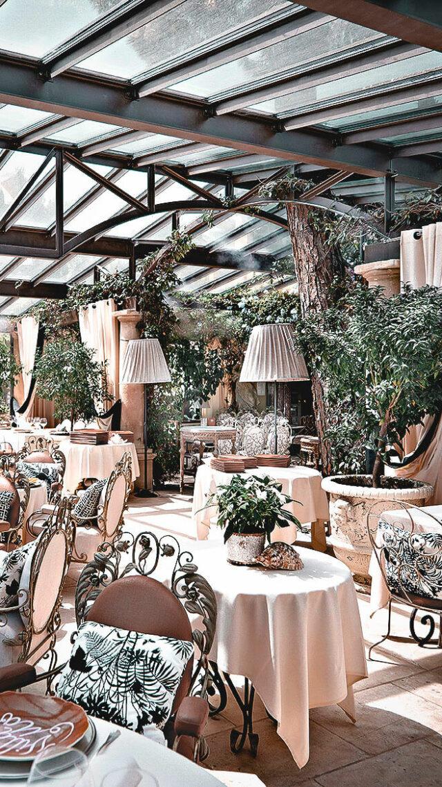 restaurant-villa marie saint-tropez
