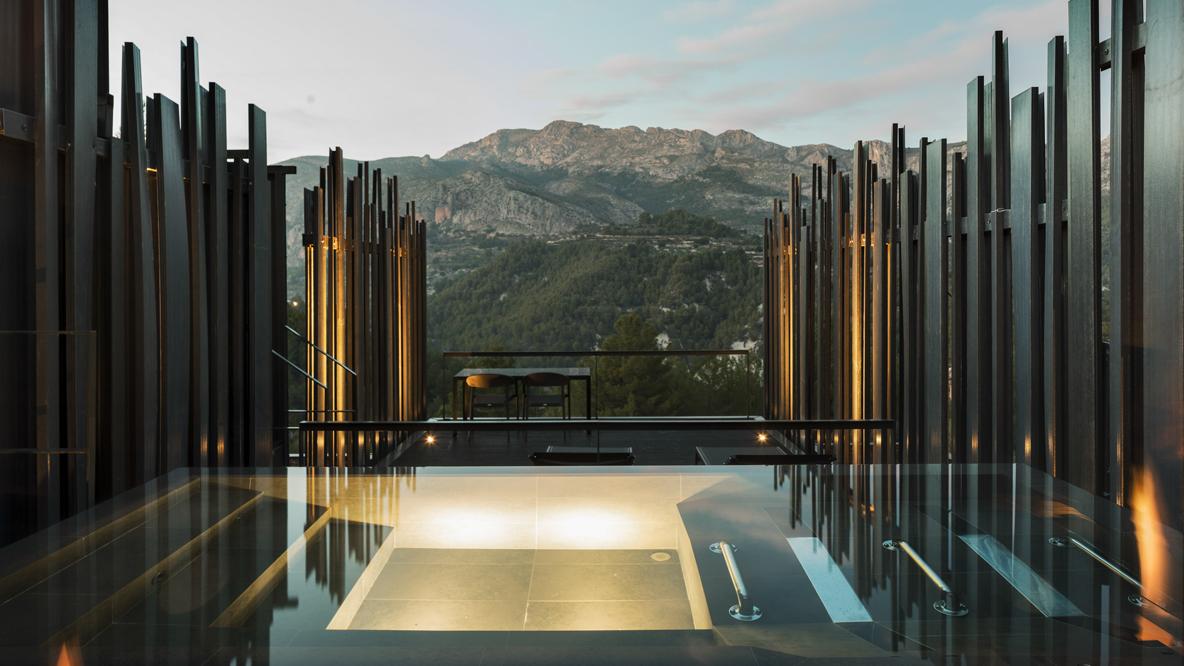 private pool view-vivood spain