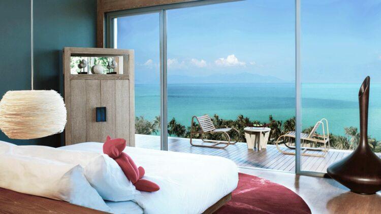 w koh samui thailand-bedroom