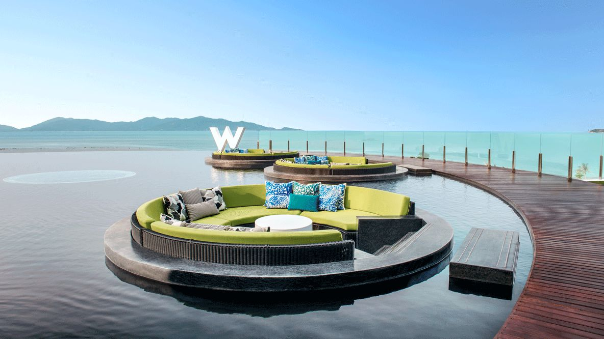 pool lounge-w koh samui thailand