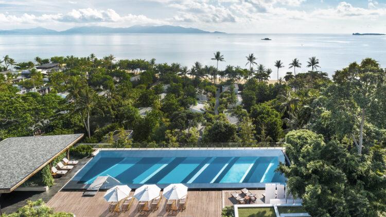 infinity pool-w koh samui thailand
