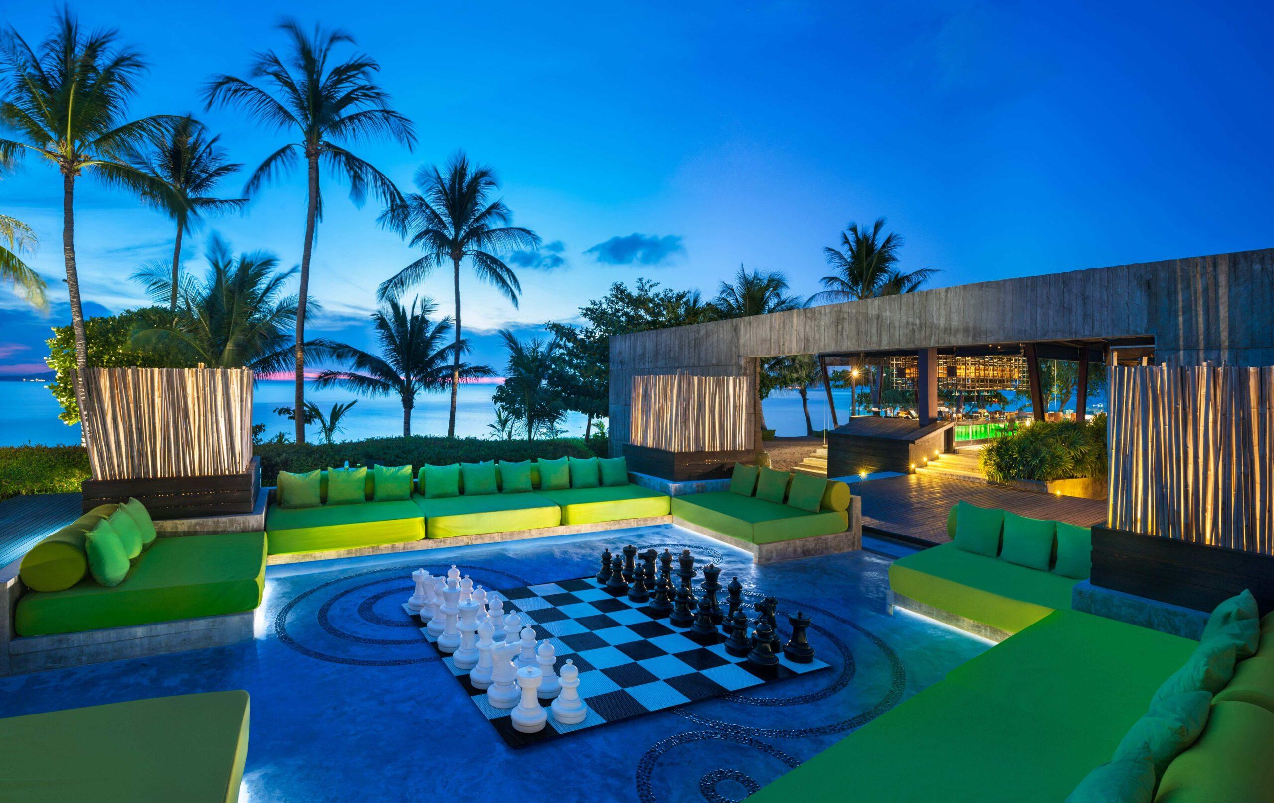outdoor chess-w koh samui thailand