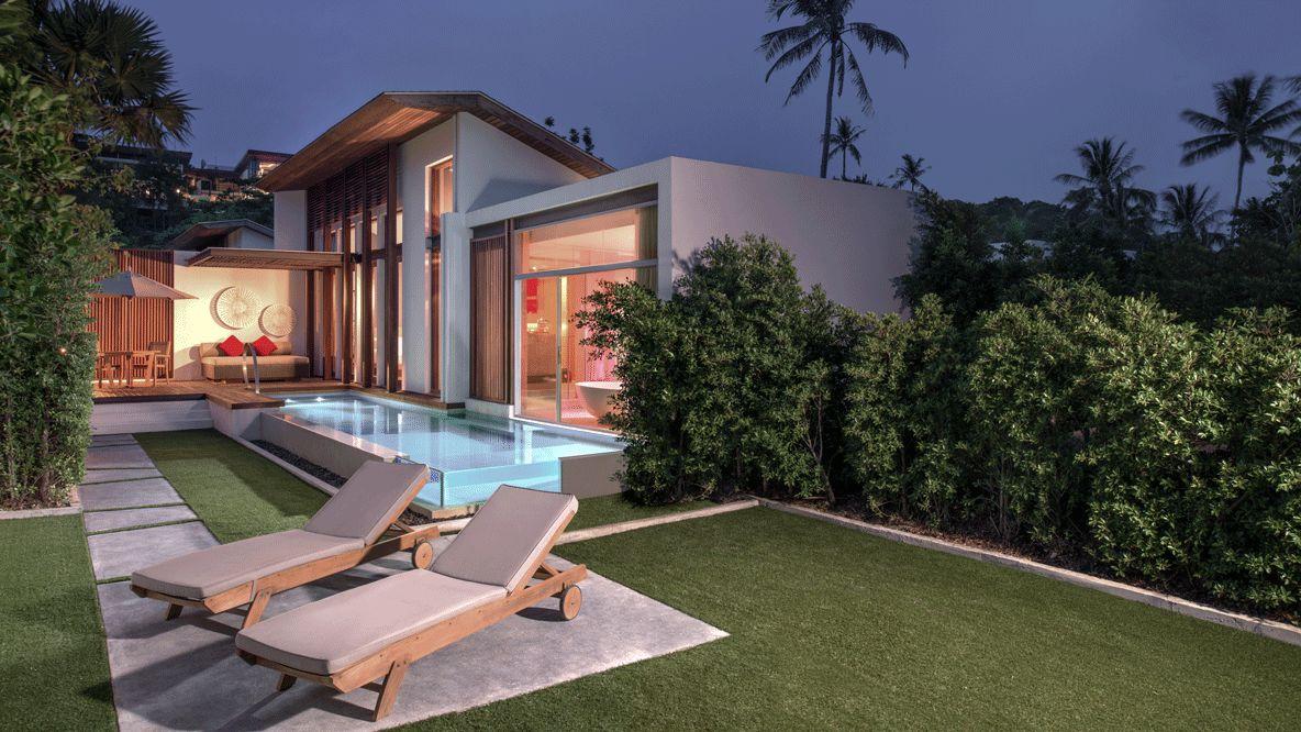 private villa with pool-w koh samui thailand