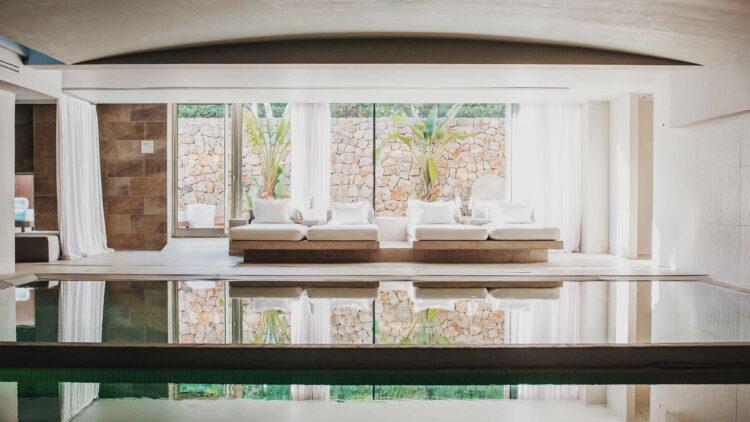 indoor pool area-aguas de ibiza