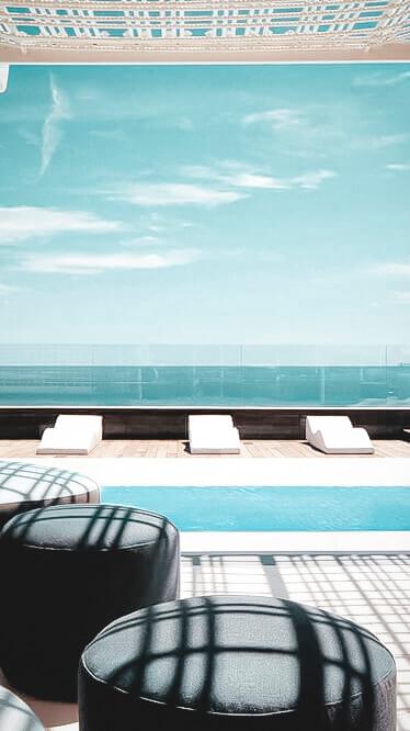 rooftop pool-aguas de ibiza