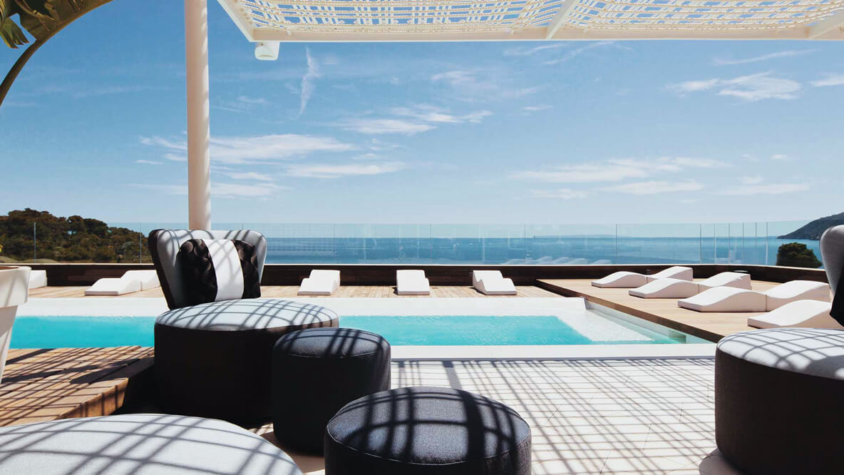 rooftop pool-aguas de ibiza