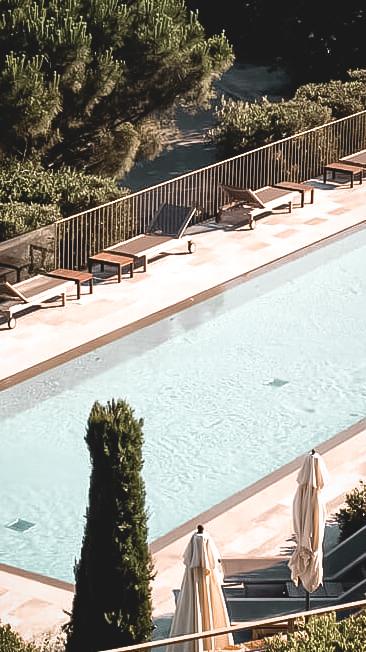 main pool hotel-la réserve ramatuelle france