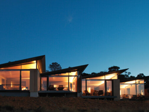 private villa facade-saffire freycinet tasmania