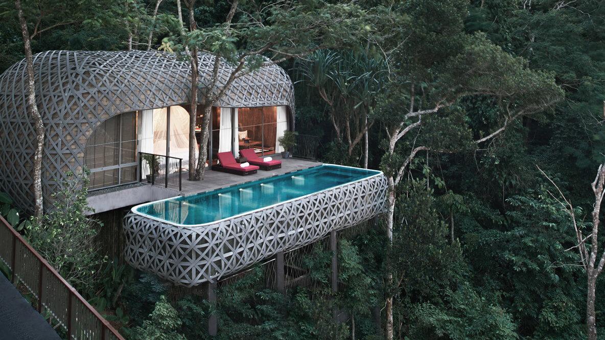 jungle house with pool-keemala phuket thailand