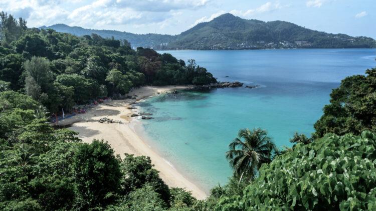 view on the beach-keemala phuket thailand