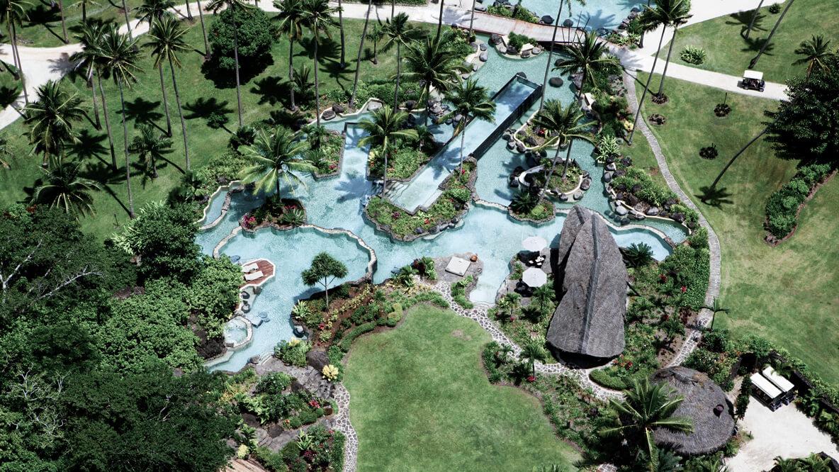 lagoon pool-laucala island fiji