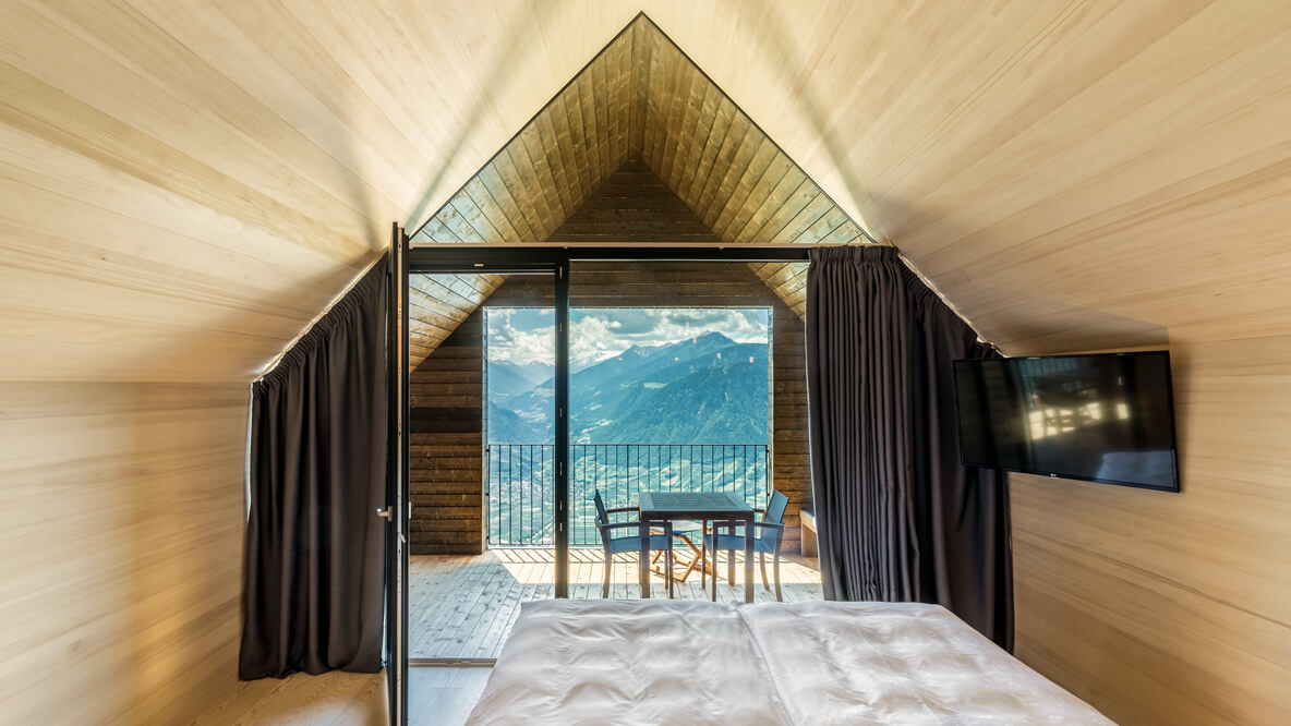 bedroom suite with a view-miramonti italy