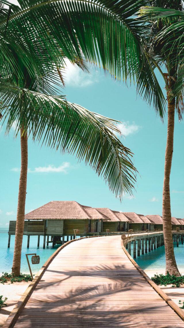 walkway overwater villas-vakkaru island maldives