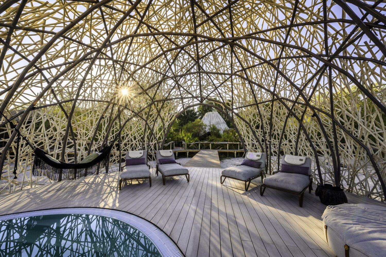 luxury pool africa-jao camp botswana