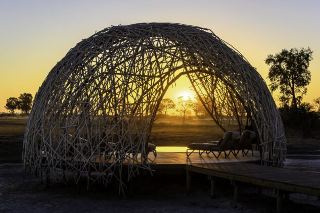 pool pavilion safari-joa camp botswana