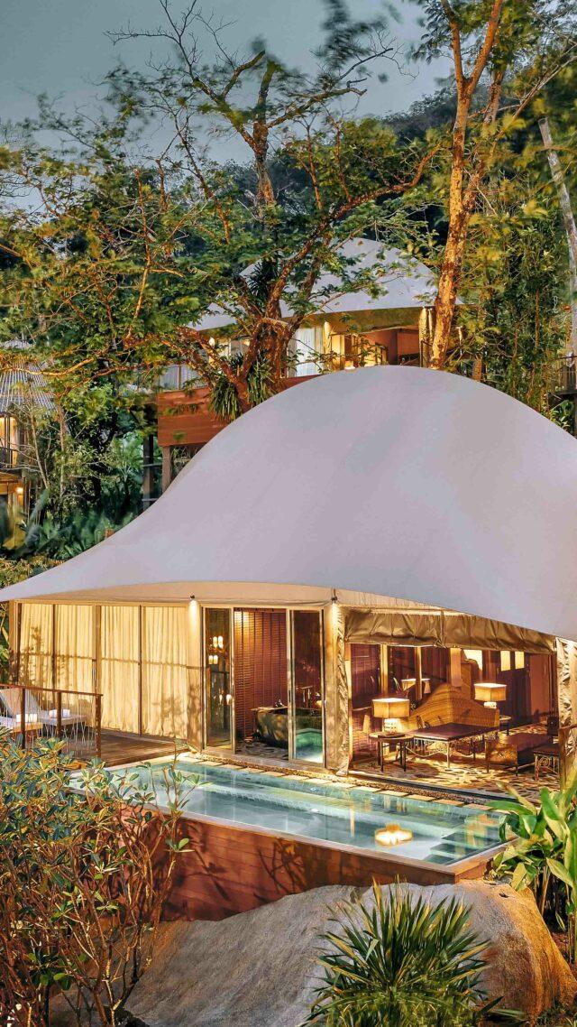 private villa with pool-keemala phuket thailand