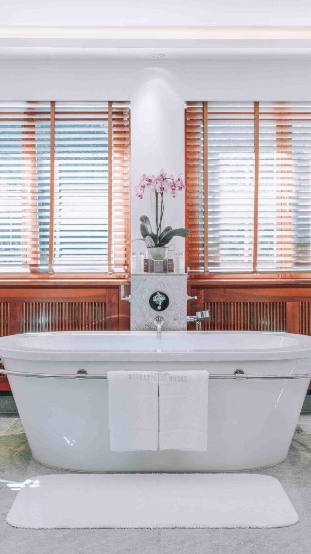 freestanding bathtub hotel-suvretta house switzerland