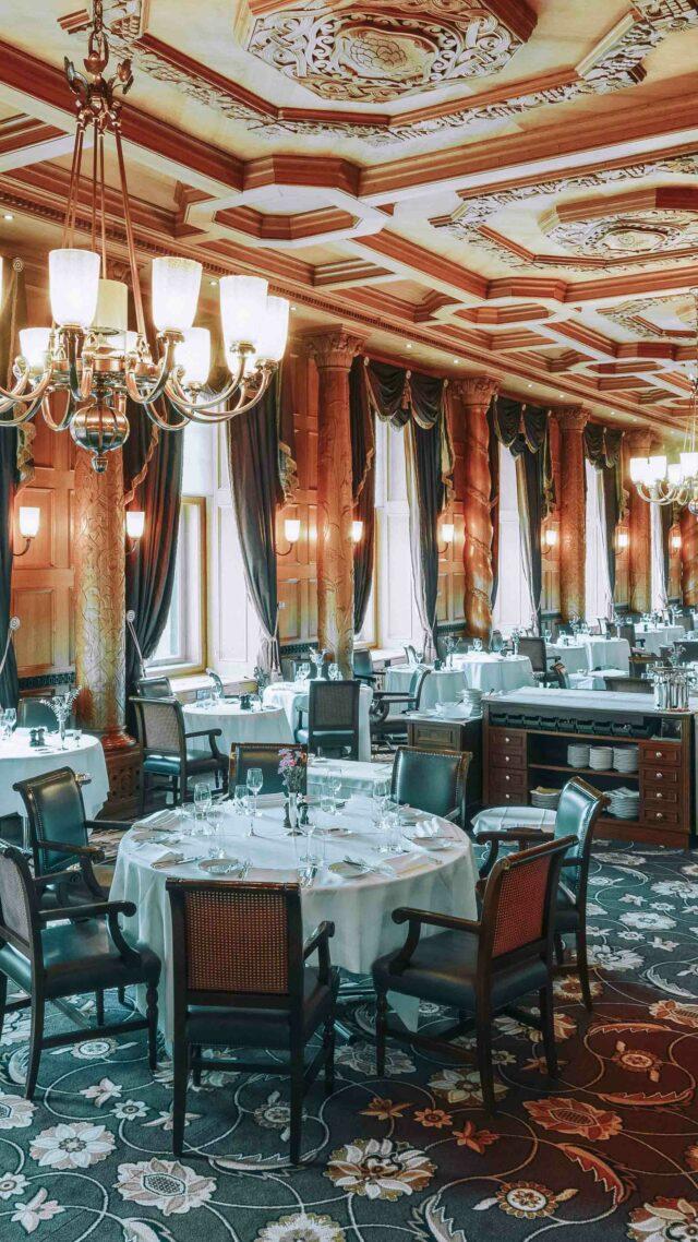 grand restaurant alps-suvretta house switzerland