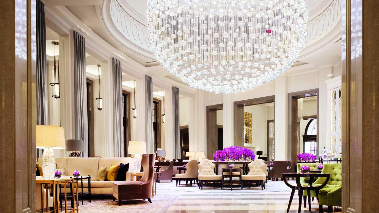 modern lobby-corinthia london
