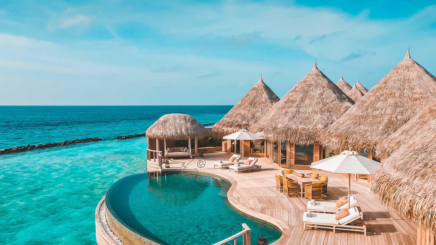 water suite with pool-the nautilus maldives
