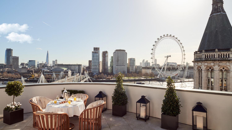 rooftop restaurant-corinthia london