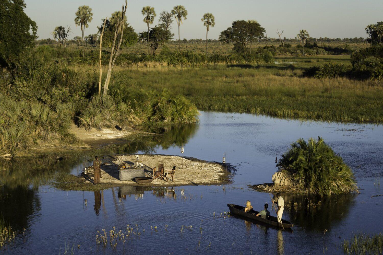picnic safari-jao camp botswana