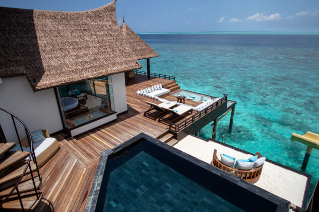 water villa with slide-jumeirah vittaveli maldives