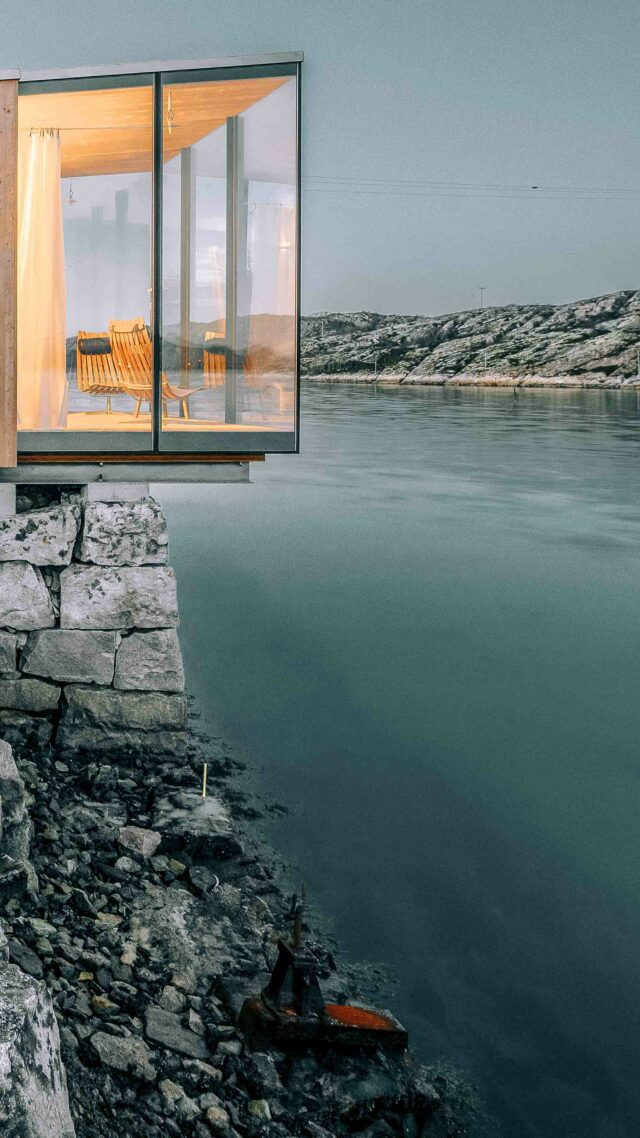 open design cabins-manshausen island resort norway